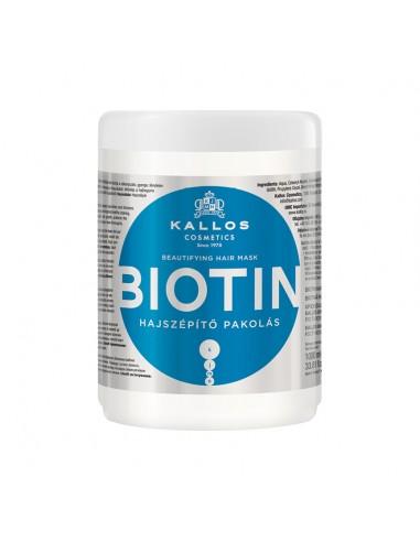 Maska za tanku kosu Kallos Biotin -...